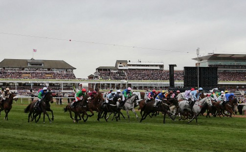 The Grand National at Aintree gets under way