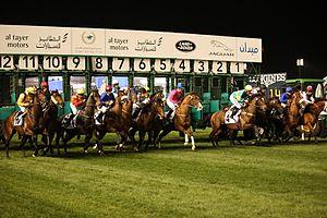 Maydan Race Start