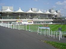 Sandown Park Racecourse Parade Ring
