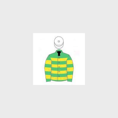 Silks of famous racehorse owner JP McManus